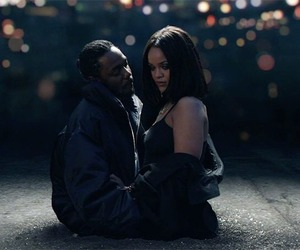 rihanna, loyalty, and kendrick lamar image