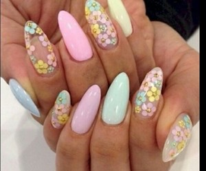 nails, easter, and nail art image