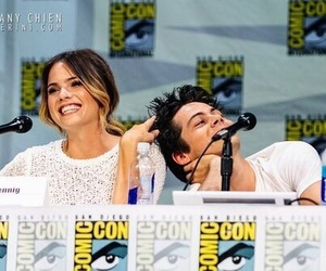 teen wolf, shelley hennig, and stiles image