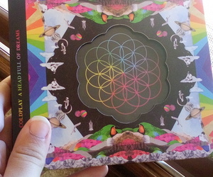 coldplay, aheadfullofdreams, and coldplayalbum image