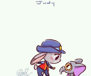 disney, judy, and zootopia image