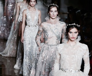 fashion, model, and Zuhair Murad image