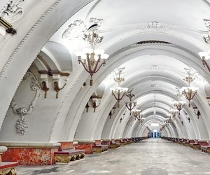 metro, moscow, and russia image