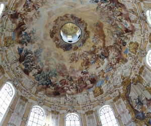 architecture, ceiling, and romantic image