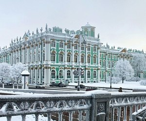 russia, winter, and st petersburg image