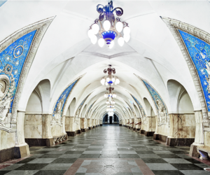 russia, subway, and metro image