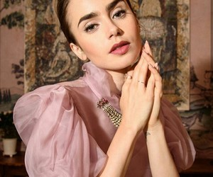lily collins and so beautiful image