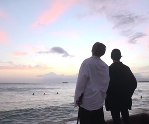 bts, taehyung, and jin image
