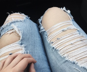 aesthetic, boyfriend jeans, and colors image