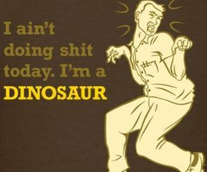 funny and dinosaur image