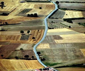 aerial photography, beige, and landscape image