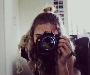 artist, camera, and girl image