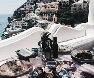 aesthetic, Greece, and breakfast image