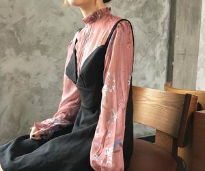 asian fashion, ulzzang girl, and kfashion image