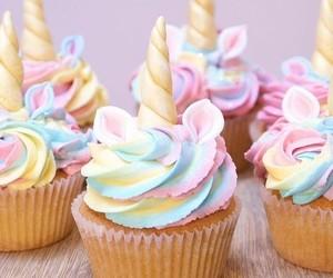 unicorn and cupcake image