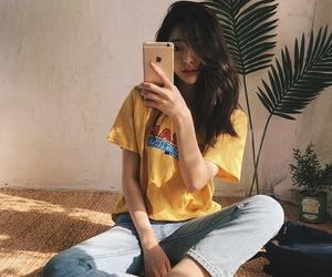 girl, ulzzang, and alternative image