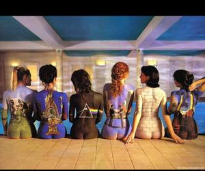 girls, Pink Floyd, and album image