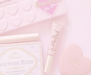 too faced, makeup, and cute image