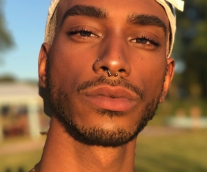 freckles, soft, and black men image