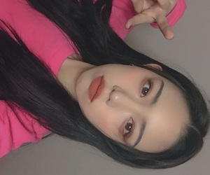 Chica, ulzzang, and selfie image
