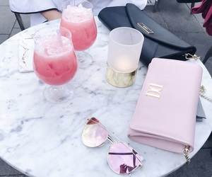 drinks, girly, and gold image