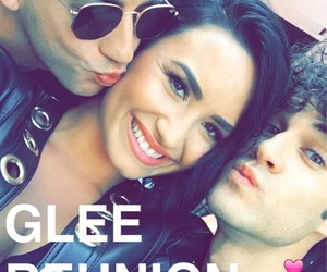 demi lovato, glee, and darren criss image