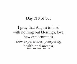 August, believe, and faith image