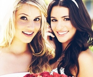 glee, lea michele, and achele image