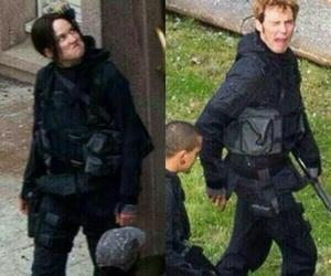 katniss everdeen, finnick odair, and sam claflin image