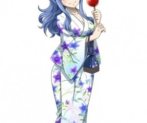 kimono, fairy tail, and juvia lockser image