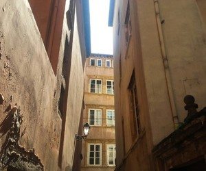 building, france, and lyon image