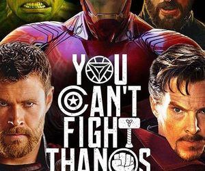 iron man, thor, and infinity war image