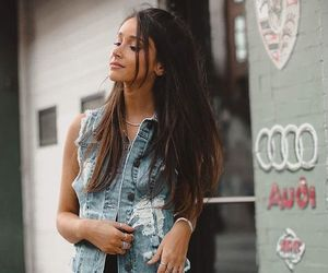 street style, what to wear, and ripped denim image