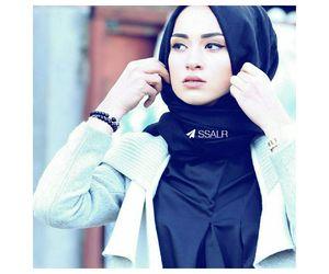 beauty, fashion, and بنات محجبات image