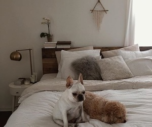 bed, home, and place image