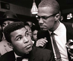 malcolm x and muhammad ali image