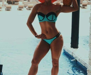 beauty, dominican, and fitness image