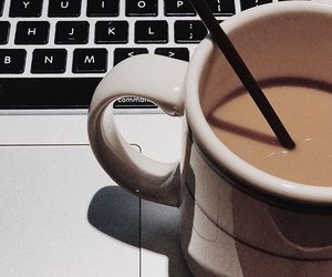 black, chill, and coffee image