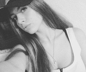 chill, white and black, and selfie image
