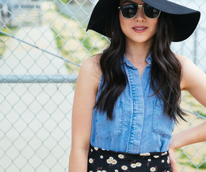 blue, floppy hat, and tumblr image