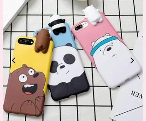 ice bear, kawaii, and panda image