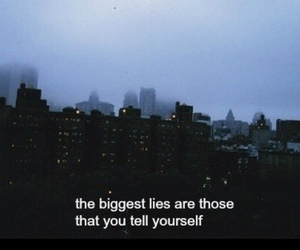 grunge, quotes, and lies image