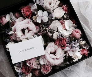 flowers, rose, and chic image