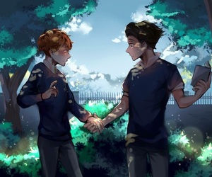 fanart and in a heartbeat image