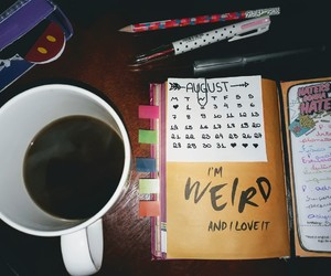 August, bullet, and coffee image