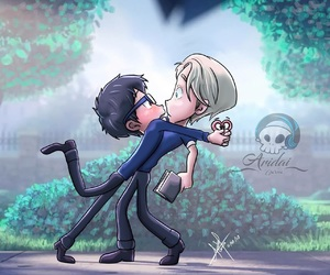 gay, crossover, and victor image