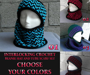 beanie, handmade, and winter fashion image