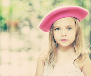 girl, cute, and pink image