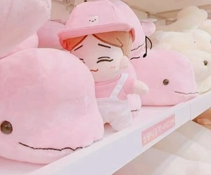 pink, aesthetic, and cute image