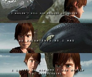 toothless, how to train your dragon, and hiccup haddock image